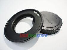 Leica M39 L39 Lens to Samsung NX adapter NX1 NX5 NX20 NX200 NX300 NX1000 + CAP