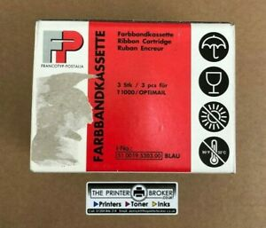 51.0019.5303.00 - Francotyp Postalia Blue Ribbon Cartridges (3 Pack)