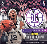 2019/20 Panini Illusions NBA 1 Hobby Box Random Team Break #5