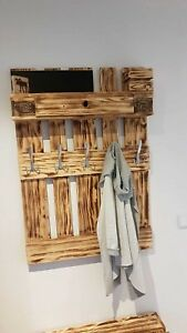 Palettenmöbel Garderobe Europalette Handarbeit Geschenkidee