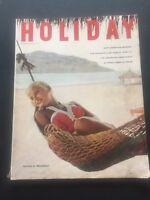 HOLIDAY Magazine November 1958 - Siesta in Mazatlan