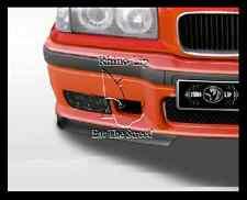BMW E36 M M3 GT Front Bumper Spoiler Chin Split Lips Sport Valance Splitter Kit