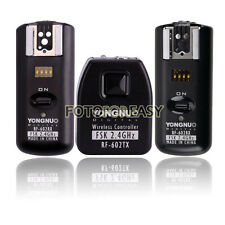Yongnuo RF602 Flash Trigger for Canon 50D 1D 5D II III 5Ds R 6D 7D+2 Receivers