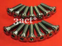 14 pcs M8 x 30mm Titanium / Ti Bolts - Kawasaki Front & Rear Disc Brake Rotor