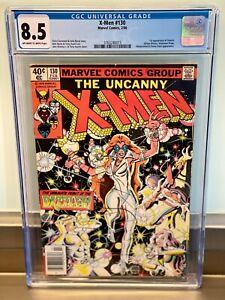 CGC 8.5 X-Men 130 1st Appearance Dazzler Hellfire Club John Byrne1980 Newsstand