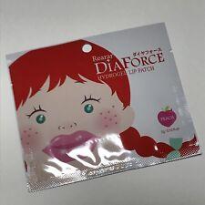 Rearar DiaForce Hydrogel Lip Patch (Peach) 3g X 1ea for Beautiful Lips