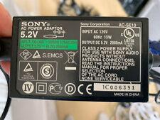 Genuine Sony Charger AC-SE10 5.2V - 2000MA