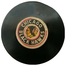 CHICAGO BLACKHAWKS VINTAGE ART ROSS CONVERSE CCM TYER NHL OFFICIAL GAME PUCK NHL