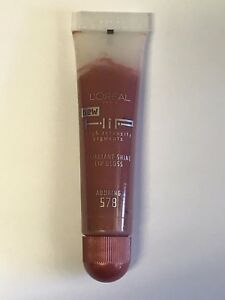 L'OREAL PARIS New HiP Brilliant Shine Lip Gloss ~ # 578 Adoring