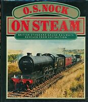 On Steam by Nock, O. S. Hardback Book The Fast Free Shipping