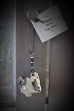Hag Stone Charm Fairy or Wish Stone Talisman Wiccan Pagan Witches Odin Stone