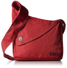Ogio Brooklyn Women's Ladies Shoulder Tablet Cross Body Purse Messenger Bag, Red