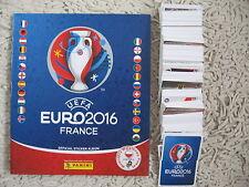 PANINI EURO 2016 france  STICKERS  complete set ALBUM + 680