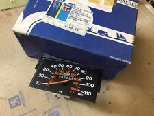 PEUGEOT 205  MK1 Jaeger pj103 speedometer mileage instrument 110mph  611866