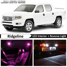22x Bulbs Pink Interior Reverse LED Lights Kits Fits Honda Ridgeline 2006-2014