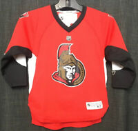 Reebok Mike Fisher YOUTH Ottawa Senators Hockey Jersey Red Size 4-7 NHL