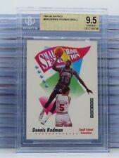 1991-92 Skybox Dennis Rodman Small School Sensation #608 BGS 9.5 GEM D54