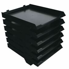 Avery 6 Tier Paperstack Black •Self-adhesive coding labels included [MY53368]