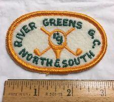 River Greens Golf Club North & South Souvenir Patch