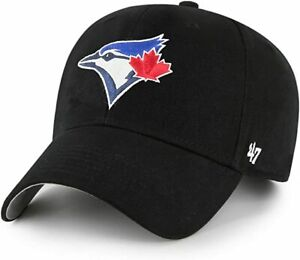 Toronto Blue Jays Black Boys Youth Adjustable Hat Cap 47 Brand New MLB Baseball