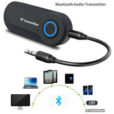 USB BT Bluetooth Stereo Audio Transmitter 3.5mm Music Dongle Adapter for TV PC