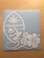 Guam State Car Window Decal