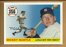 Mickey Mantle 2007 Topps Mantle Home Run History Card # MHR356 New York Yankees