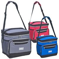 18L Large Insulated Cooler Freezer Bag Food Cans Lunch BBQ Ice Box Hiking Picnic