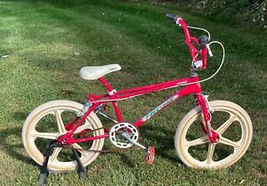VTG 1986 Cycle Pro Old School BMX Freestyle Split Rail Bike Cromo 4130