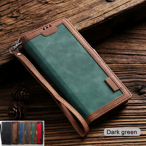 For Samsung A71 A51 A20  A30 A70 A50 Case Leather Wallet Card Slot Flip Cover