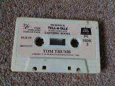 Pickwick Tell-a-Tale Ladybird Audio Cassette / tape book Tom Thumb