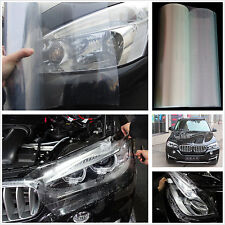 Car SUV 100cm x 30cm Headlight Transparent Vinyl Wrap Film Sheet Overlay Sticker