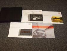 2008 Audi TT Roadster Convertible Owner Owner's Operator Manual Set 2.0T 2.0L