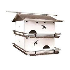 Coates Watersedge Purple Martin Starling Resistant Bird House 4 Room
