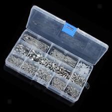 A Box of 580pcs Jewelry Making Starter Kit Jewelry Findings Supplies White K