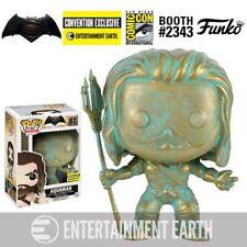 Funko Pop Heroes: Batman V Superman - Patina Aquaman #87 - Sdcc Ent Earth Excl