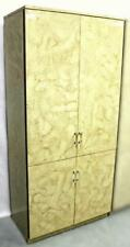 Fine Contemporary Modern Lacquer Lucite Armoire Wardrobe Chest Bookcase Cupboard