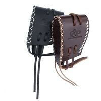 Leather Recoil Pad Slip-on Rifle Shotgun-Buttstock Extension Hand Stitching