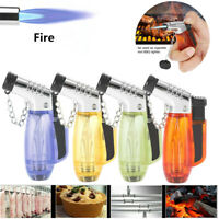 Mini Outdoor Kitchen BBQ Refillable Butane Torch Flame Lighter Ignition Tools