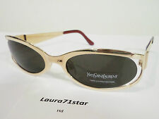 Yves Saint Laurent 6072 Oro / Gold occhiali da sole sunglasses New Original