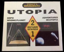 Utopia - Oops! Wrong Planet/Adventures In Utopia DCD #G1986289
