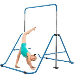 Gymnastics Bar Expandable Kids Horizontal Training Bars Children Kip Home Gym