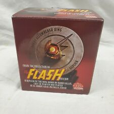 DC COMICS THE FLASH MUSEUM BARRY ALLEN PROP LIFE REPLICA RING JLA JUSTICE LEAGUE
