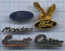 Lot Pin's marque automobile FORD voiture logo aigle modèle ESCORT ORION MONDEO