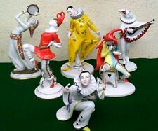 """Full Set of All 6 """"Goebel Archive Collection"""" Rare Hummel Masquerade Figurines"""