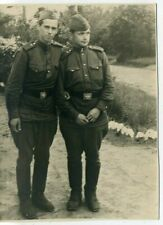 1950s Soviet Army Two Soldiers   Russian vintage photo