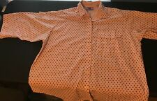 True Romance Womens Button Down 3/4 Sleeves Blouse Shirt Plus Sz 18W-38(UBA130)