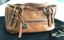 TULA Nuevo Bolso Piel Camel - Leather Bag, Made in UK