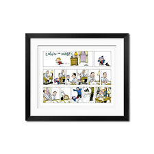 Calvin and Hobbes Greatest Dad Poster Print