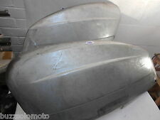 Lambretta  S3 LI Machine Pressed Side Panels in Bare Metal